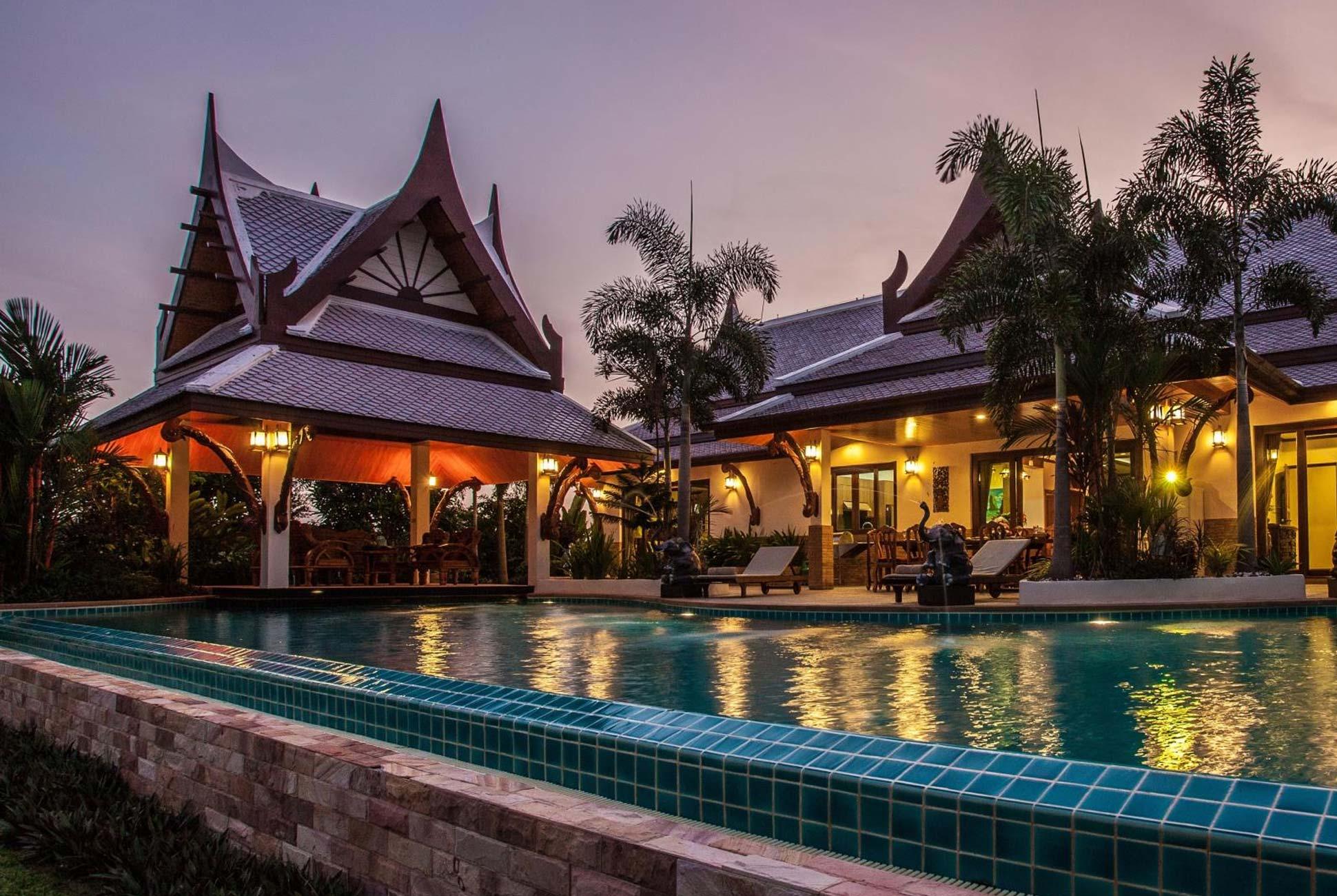 Private villa, Villa Saifon in Krabi Thailand