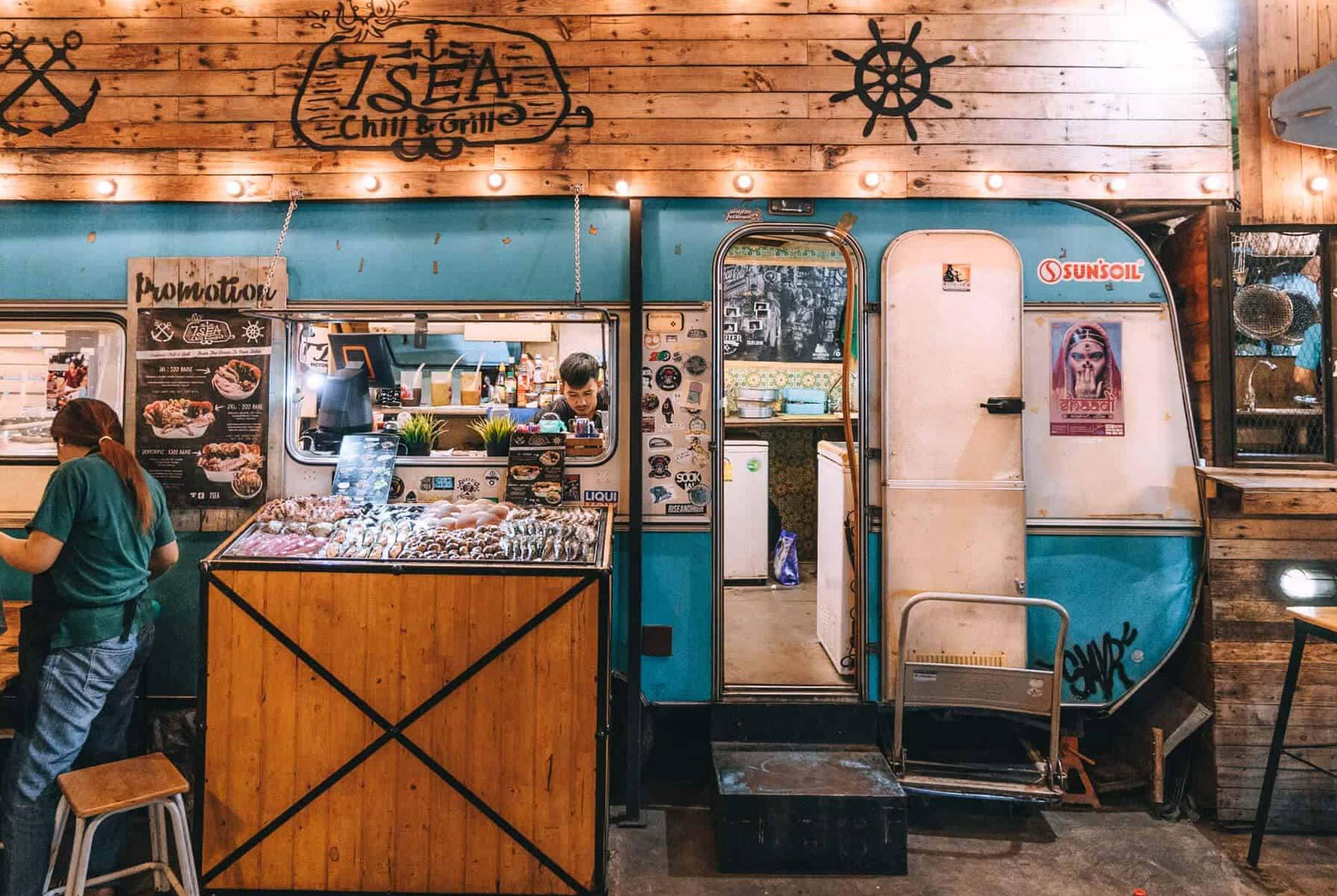 Nightmarket eatery, Bangkok