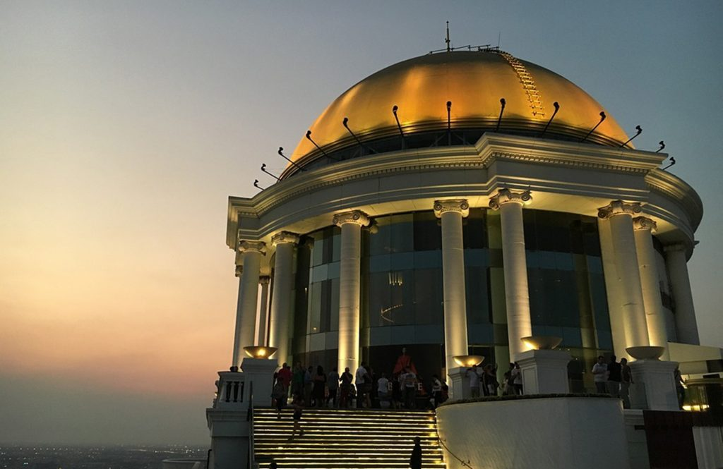 Sky Bar at Lebua State Tower, Bangkok, Thailand