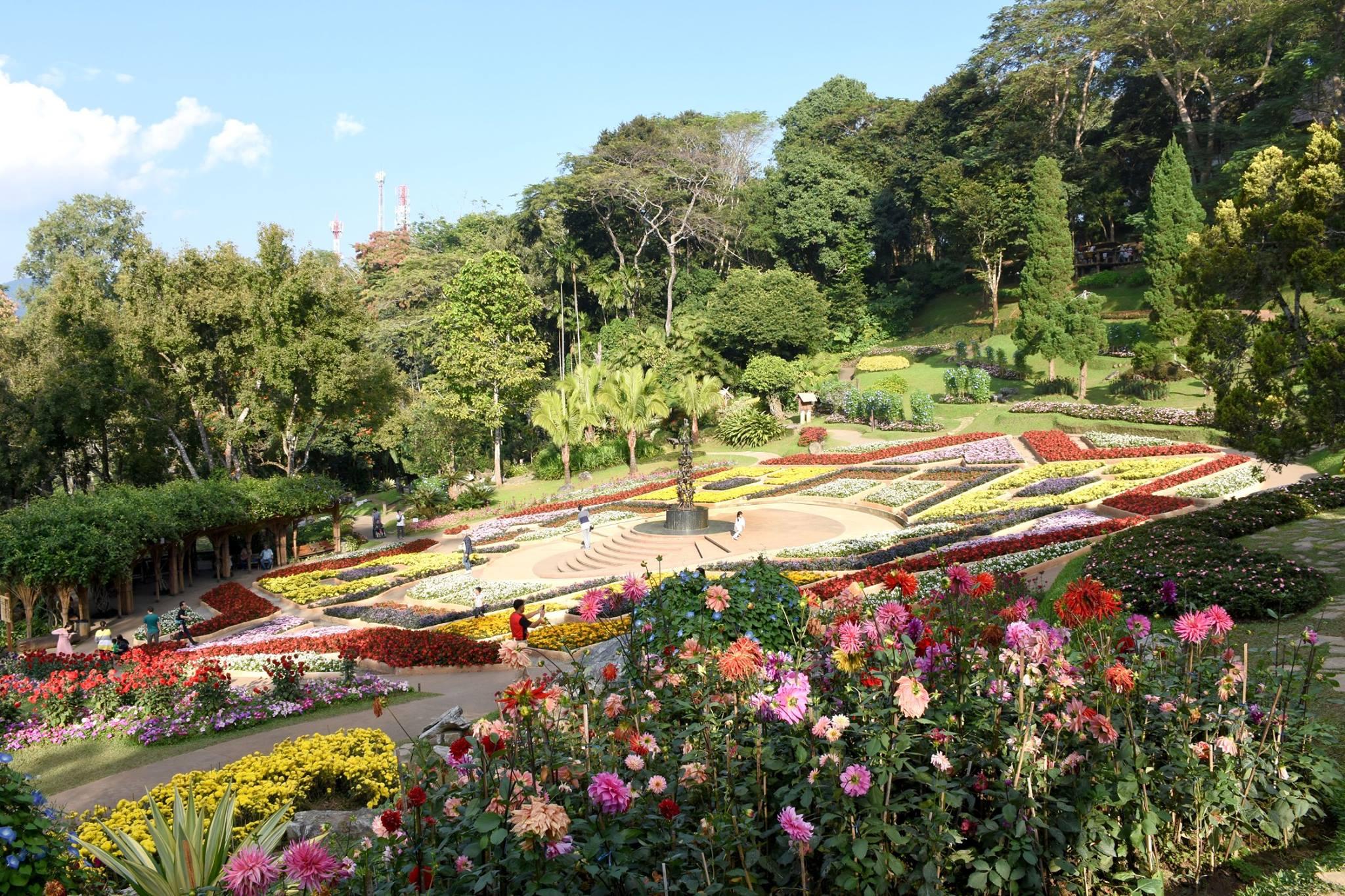 Mae Fah Luang Garden, Chiang Rai, Thailand