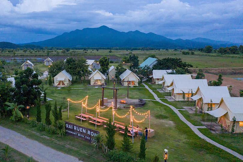 Rai Ruen Rom Organic Farm, Chiang Rai, Thailand