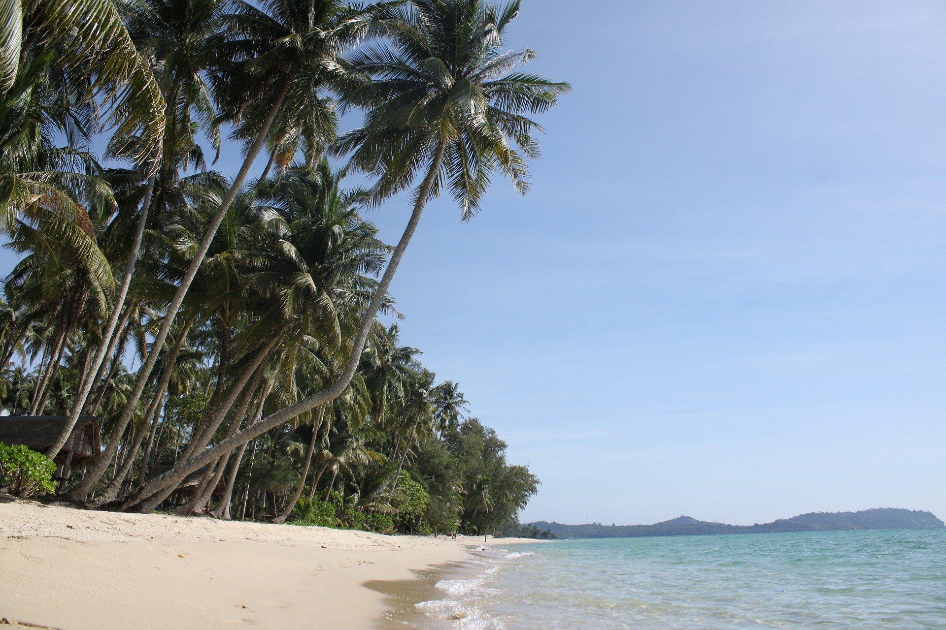 A beach on Koh Kood, Thailand