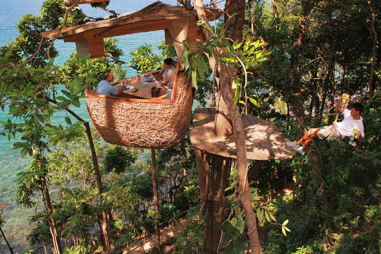 Koh Kood Tree Pods at Soneva Kiri Resort, Thailand