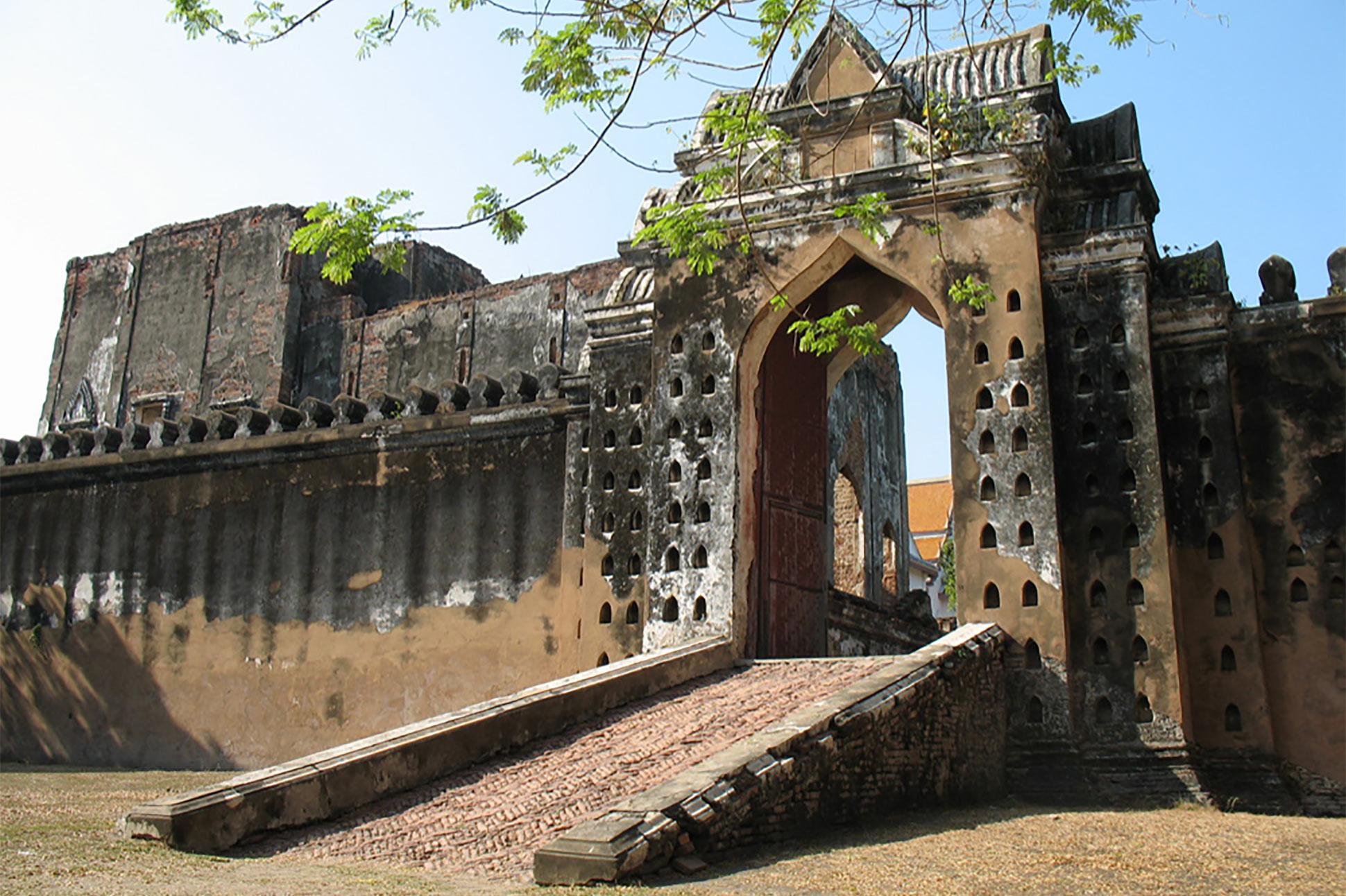 King Narai's Palace is locally known as Phra Narai Ratchaniwet. Lopburi, Thailand