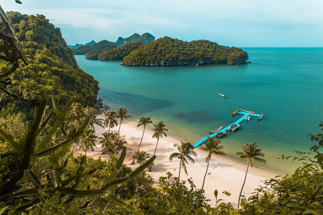 Ang Thong National Marine Park near Koh Samui, Surat Thani Province, Thailand