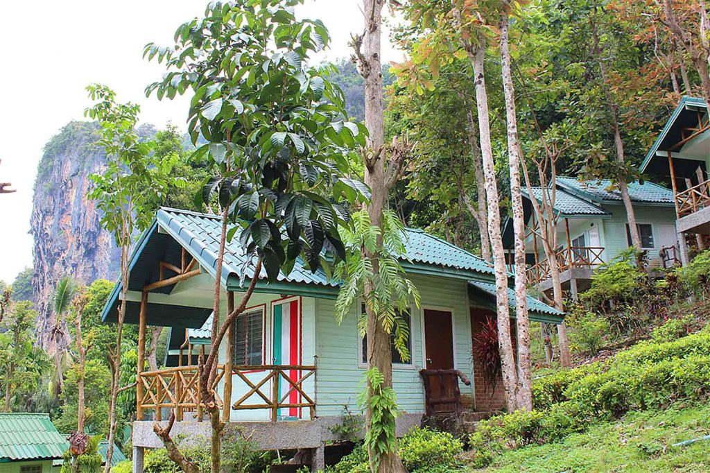 Bungalow at Chill Out Bar & Bungalow, Railay, Krabi Province, Thailand