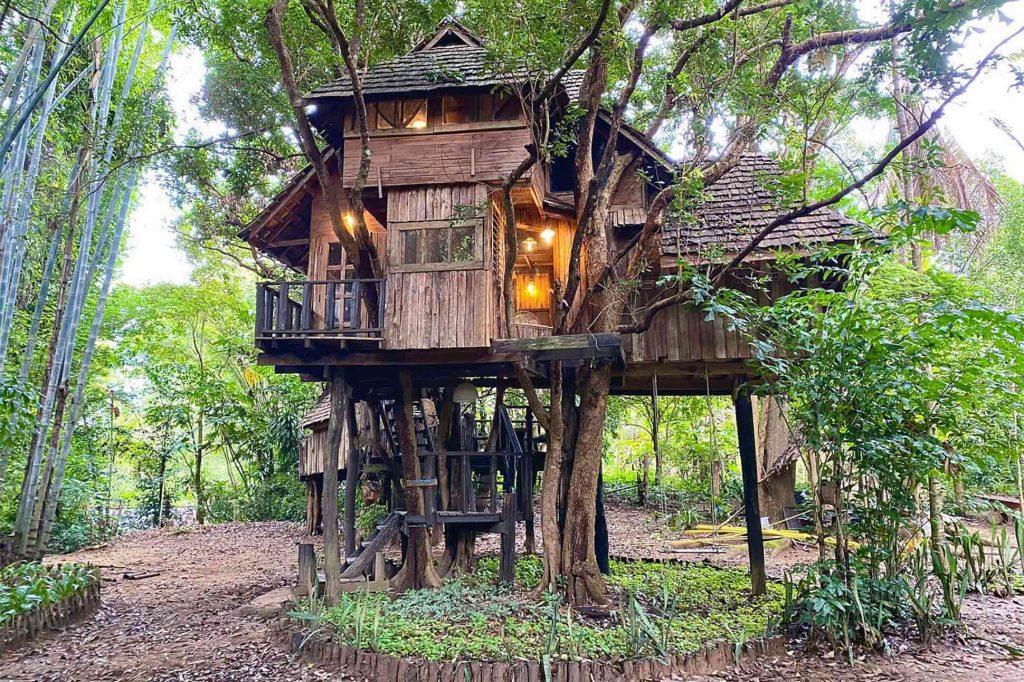 Rabeang Pasak Treehouse Resort outside Chiang Mai, Thailand