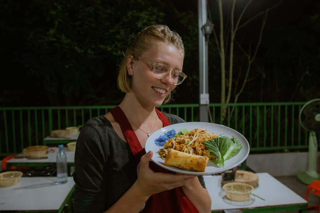 Visiting a Thai cooking class in Thailand comes with plenty of delicious meals