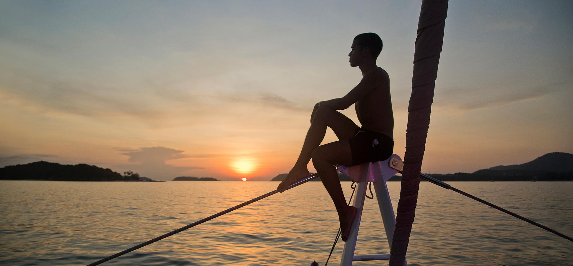 Phang Nga Sunset Go Thai Be Free