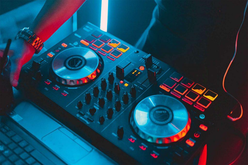 DJ playing in Phuket, Thailand