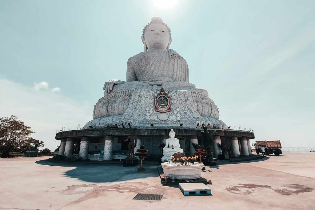 The Big Buddha belong on any itinerary for two weeks in Phuket