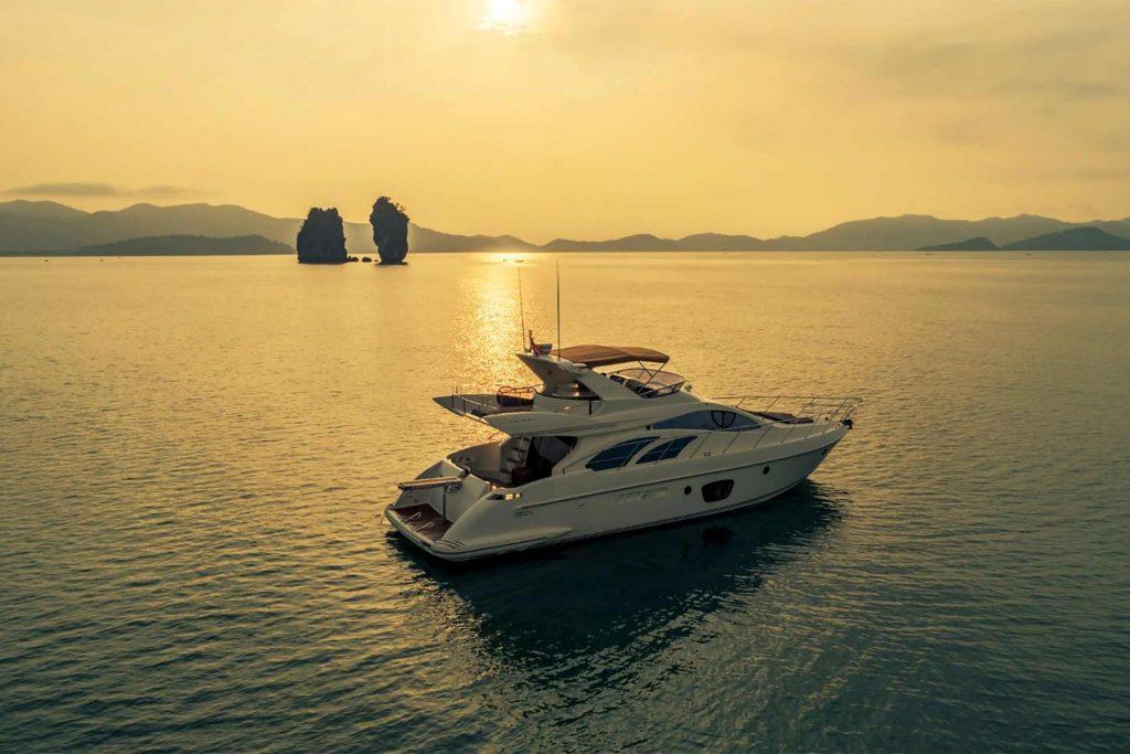 Sunset cruise in Phuket, Thailand